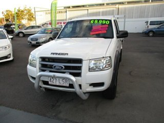 2008 Ford Ranger White 5 Speed Manual Double Cab.
