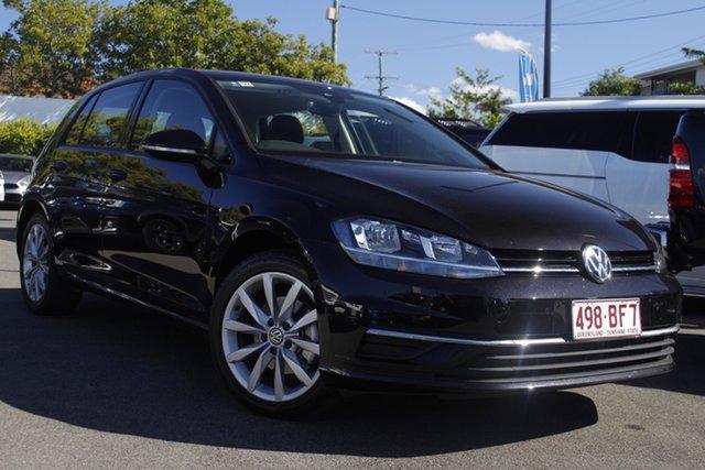Used Volkswagen Golf 7.5 MY19.5 110TSI DSG Comfortline Mount Gravatt, 2019 Volkswagen Golf 7.5 MY19.5 110TSI DSG Comfortline Black 7 Speed Sports Automatic Dual Clutch