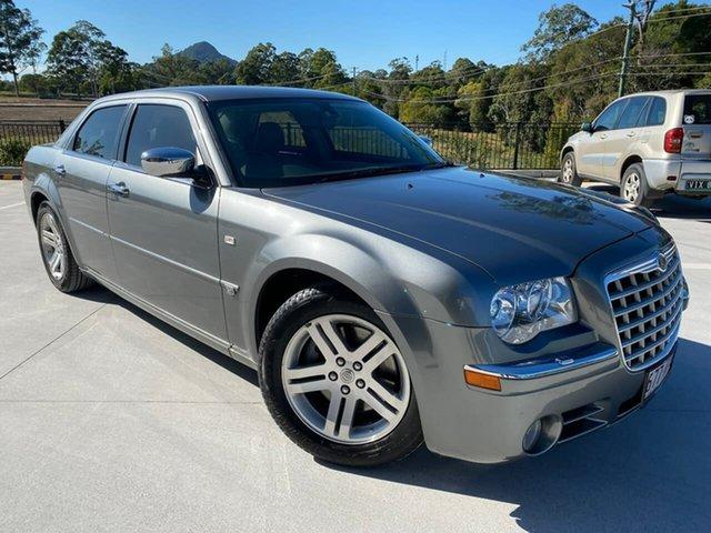 Used Chrysler 300C MY2007 Cooroy, 2007 Chrysler 300C MY2007 Grey 5 Speed Sports Automatic Sedan