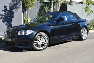 2010 BMW 1 Series E88 MY11 135i D-CT Grey 7 Speed Sports Automatic Dual Clutch Convertible.