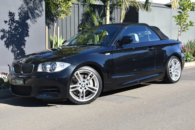 Used BMW 1 Series E88 MY11 135i D-CT Brighton, 2010 BMW 1 Series E88 MY11 135i D-CT Grey 7 Speed Sports Automatic Dual Clutch Convertible