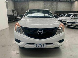 2013 Mazda BT-50 UP0YF1 XT 4x2 Hi-Rider White 6 Speed Sports Automatic Utility.