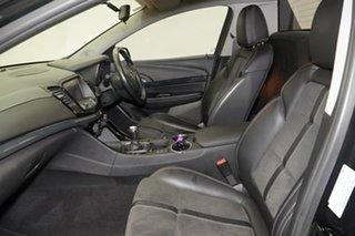 2016 Holden Ute VF II MY16 SV6 Ute Black 6 Speed Manual Utility