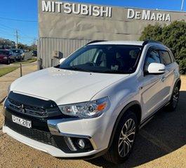 2018 Mitsubishi ASX White Wagon.
