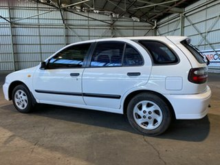 1999 Nissan Pulsar N15 S2 SSS White 4 Speed Automatic Hatchback