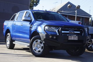 2017 Ford Ranger PX MkII 2018.00MY XLT Double Cab Blue 6 Speed Sports Automatic Utility.