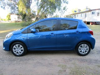 2016 Toyota Yaris NCP130R MY15 Ascent Tidal Blue 4 Speed Automatic Hatchback
