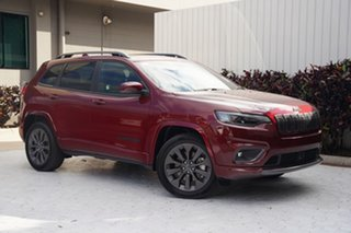 2020 Jeep Cherokee KL MY20 S-Limited Velvet Red 9 Speed Sports Automatic Wagon.