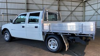 2001 Holden Rodeo TF MY01 LX Crew Cab 4x2 White 4 Speed Automatic Utility