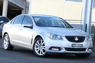 2013 Holden Commodore VF MY14 International Silver 6 Speed Sports Automatic Sedan.