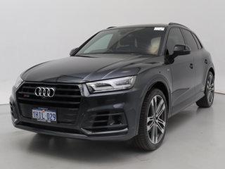 2017 Audi SQ5 FY MY18 3.0 TFSI Quattro Grey 8 Speed Automatic Tiptronic Wagon.