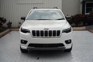 2021 Jeep Cherokee KL MY21 80th Anniversary Bright White 9 Speed Sports Automatic Wagon.