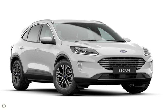 New Ford Escape ZH 2021.25MY Berwick, 2021 Ford Escape ZH 2021.25MY White 8 Speed Sports Automatic SUV