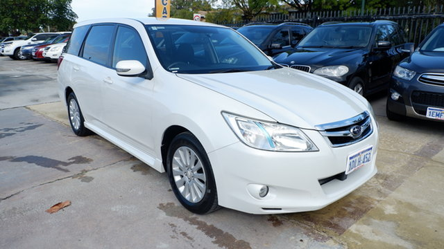 Used Subaru Liberty B5 MY10 Exiga Lineartronic AWD St James, 2010 Subaru Liberty B5 MY10 Exiga Lineartronic AWD White 6 Speed Constant Variable Wagon