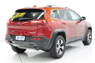 2014 Jeep Cherokee KL Trailhawk (4x4) Red 9 Speed Automatic Wagon