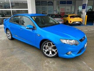 2010 Ford Falcon FG XR6 50th Anniversary Blue 6 Speed Sports Automatic Sedan.