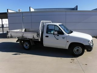 2003 Toyota Hilux RZN149R MY02 4x2 White 5 Speed Manual Cab Chassis.