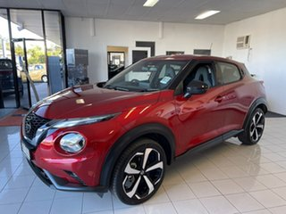 2020 Nissan Juke F16 ST-L Fuji Sunset Red 7 Speed Sports Automatic Dual Clutch Hatchback