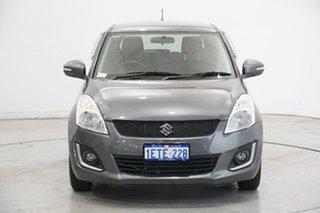 2015 Suzuki Swift FZ MY15 GL Grey 4 Speed Automatic Hatchback.