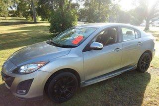 2010 Mazda 3 BL10L1 SP25 Activematic Silver 5 Speed Sports Automatic Sedan.
