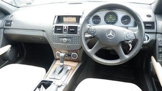 2008 Mercedes-Benz C-Class W204 C200 Kompressor Avantgarde Black 5 Speed Sports Automatic Sedan