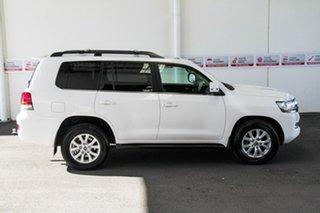 2018 Toyota Landcruiser VDJ200R LC200 VX (4x4) Glacier White 6 Speed Automatic Wagon