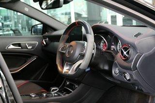 2017 Mercedes-Benz A-Class W176 808MY A45 AMG SPEEDSHIFT DCT 4MATIC Black 7 Speed.
