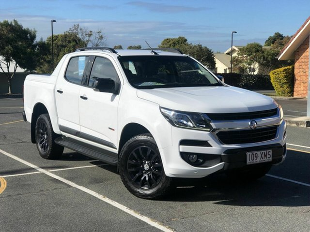 Used Holden Colorado RG MY18 Z71 Pickup Crew Cab Chermside, 2017 Holden Colorado RG MY18 Z71 Pickup Crew Cab White 6 Speed Sports Automatic Utility