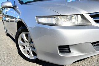 2006 Honda Accord Euro CL MY2006 Silver 5 Speed Automatic Sedan.