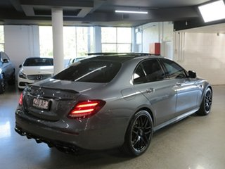 2018 Mercedes-Benz E-Class W213 808MY E63 AMG SPEEDSHIFT MCT 4MATIC+ S Grey 9 Speed Sports Automatic