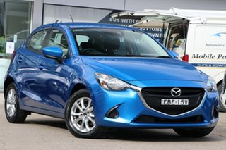 2019 Mazda 2 DJ2HAA Maxx SKYACTIV-Drive Blue 6 Speed Sports Automatic Hatchback.