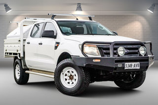 2012 Ford Ranger PX XL White 6 Speed Sports Automatic Cab Chassis.