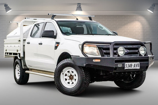 Used Ford Ranger PX XL Gepps Cross, 2012 Ford Ranger PX XL White 6 Speed Sports Automatic Cab Chassis