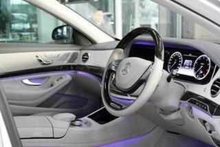 2013 Mercedes-Benz S-Class W222 S500 7G-Tronic + Silver 7 Speed Sports Automatic Sedan.