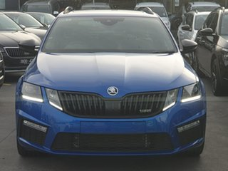 2019 Skoda Octavia NE MY20 RS DSG 245 Blue 7 Speed Sports Automatic Dual Clutch Wagon.