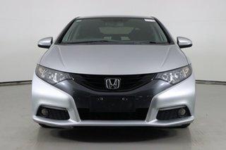 2013 Honda Civic FK MY13 VTi-L Silver 5 Speed Automatic Hatchback.