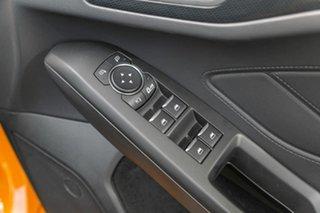 2020 Ford Focus ST Orange 7 Speed Automatic Hatchback