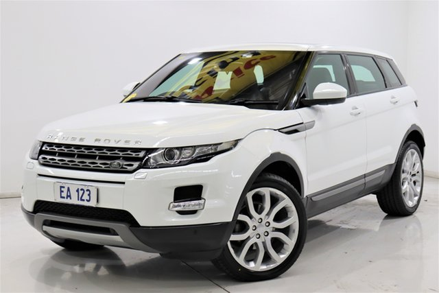 Used Land Rover Range Rover Evoque L538 MY15 TD4 Pure Tech Brooklyn, 2015 Land Rover Range Rover Evoque L538 MY15 TD4 Pure Tech White 9 Speed Sports Automatic Wagon