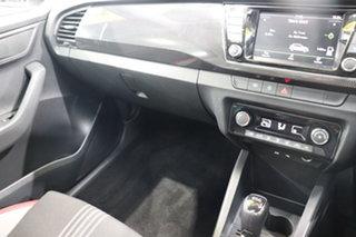 2017 Skoda Fabia NJ MY17 81TSI DSG Monte Carlo White 7 Speed Sports Automatic Dual Clutch Hatchback