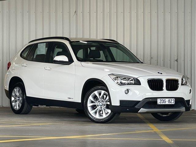 Used BMW X1 E84 LCI sDrive20i Steptronic Moorabbin, 2013 BMW X1 E84 LCI sDrive20i Steptronic White 8 Speed Sports Automatic Wagon