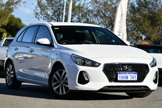 2018 Hyundai i30 PD2 MY19 Active White 6 Speed Sports Automatic Hatchback.