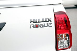 2020 Toyota Hilux GUN126R Rogue Double Cab White 6 Speed Sports Automatic Utility
