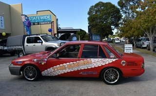 1986 Holden Commodore VL SL Red 5 Speed Manual Sedan