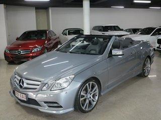 2013 Mercedes-Benz E-Class A207 MY12 E250 CDI BlueEFFICIENCY 7G-Tronic + Avantgarde Pallidiumsilver.
