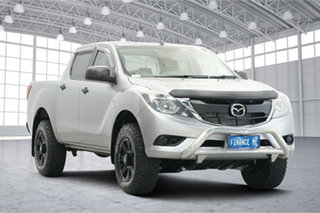 2017 Mazda BT-50 UR0YG1 XT Silver 6 Speed Sports Automatic Utility.