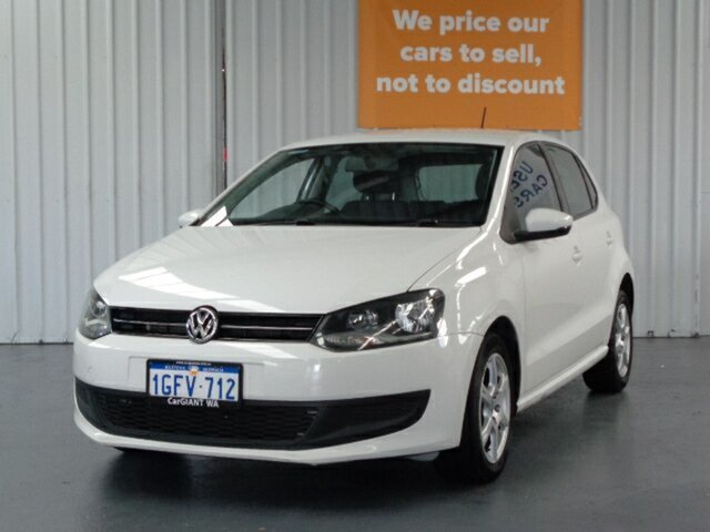 Used Volkswagen Polo 6R MY13.5 77TSI DSG Comfortline Rockingham, 2013 Volkswagen Polo 6R MY13.5 77TSI DSG Comfortline White 7 Speed Sports Automatic Dual Clutch