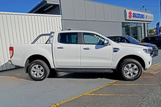 2020 Ford Ranger PX MkIII 2021.25MY XLT Hi-Rider White 6 Speed Sports Automatic Double Cab Pick Up