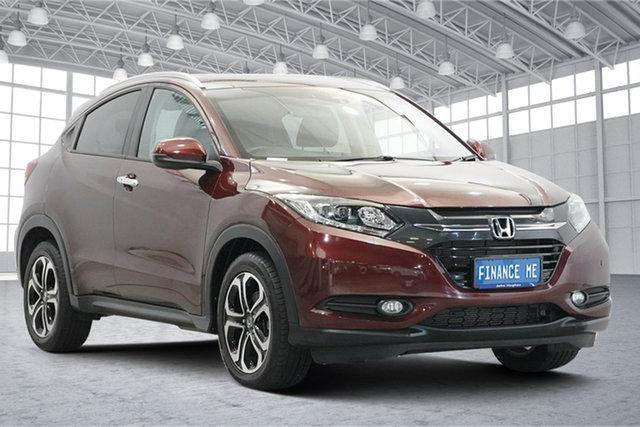 Used Honda HR-V MY16 VTi-L Victoria Park, 2016 Honda HR-V MY16 VTi-L Red 1 Speed Constant Variable Hatchback