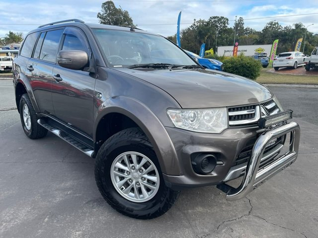 Used Mitsubishi Challenger PC (KH) MY14 LS Gympie, 2015 Mitsubishi Challenger PC (KH) MY14 LS Bronze 5 Speed Sports Automatic Wagon