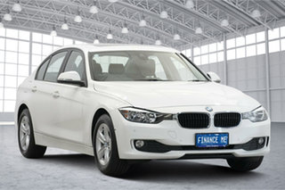 2014 BMW 3 Series F30 MY0813 316i White 8 Speed Automatic Sedan.